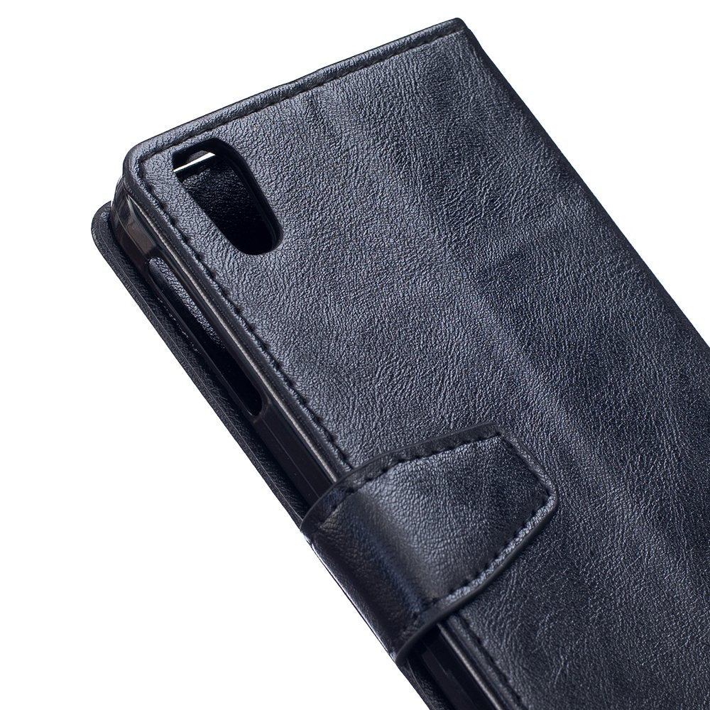 Shop4   blackberry dtek50 hoesje   wallet case cabello zwart ...